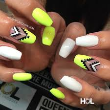 crownthequeens aztec set by hausoflacquer email nails