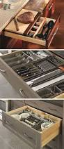 Kitchen Cabinets Drawers 298 Best Kitchen Organized Drawers Images On Pinterest Kitchen