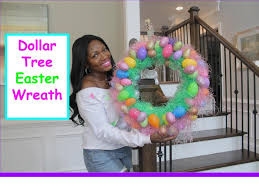 how to make easter wreaths diy dollar tree easter wreath 2015 pinspired