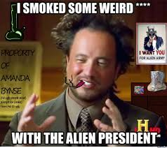 aliens guy smoking by en1gma92 meme center
