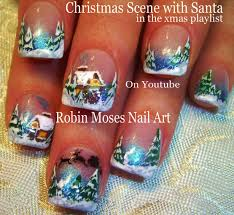 easy xmas nail art fun holiday tutorial diy christmas nails robin