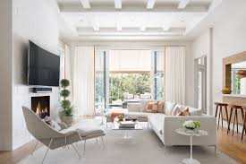 contemporary livingroom contemporary living room with box ceiling by krista watterworth