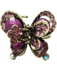 butterfly hair clip amazing deal bronze butterfly hair claw clip purple