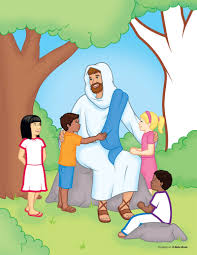 clipart of jesus and the children and photos collection