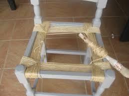 rempailler une chaise empaillement d une chaise serenatura