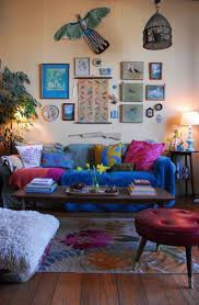 home decor ideas living room beautiful bohemian living room in home decorating ideas with