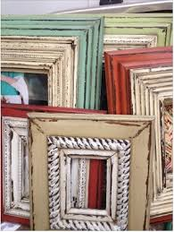 Photo Frame Ideas Best 25 Paint Picture Frames Ideas On Pinterest Painted Picture