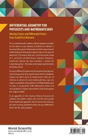 differential geometry for physicists and mathematicians moving
