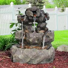 Rock Water Features For The Garden by 33