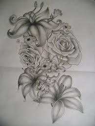 Big Flower Tattoos On - 35 flower design sles and ideas