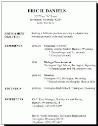 good objective on resume resume job objective first job resume objective resume objective