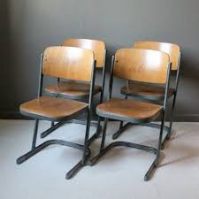 sedie scolastiche 4 sedie scolastiche vintage firmate da karl northheler germania