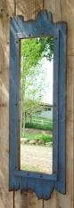 fulllength barnwood mirror made of real pine by workhorsefurniture