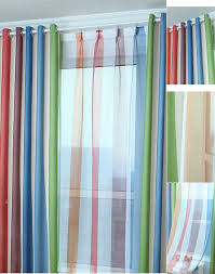 Multi Colored Curtains Drapes Multi Colored Curtains Drapes Horizontal Striped Curtains Black