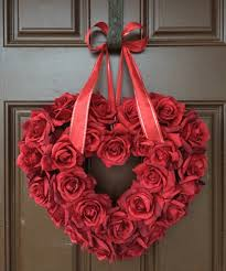 valentines wreaths how to make a roses wreath