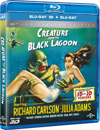 the halloween party from the black lagoon creature from the black lagoon 60th anniversary edition blu ray 3d