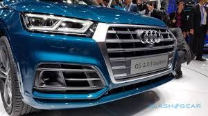 Audi Q5 Blue - 2018 audi q5 revealed with efficiency and tech upgrade slashgear