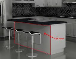 kitchen island panels kitchen island panels in traditional kitchen ideas home interior