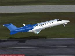 learjet 45 texture dark blue fsx at flight simulator x nexus