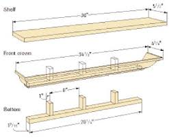 Free Woodworking Plans Floating Shelves by Free Woodworking Plans Wall Shelf Friendly Woodworking Projects