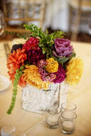 funky vintage wedding centerpieces floret cadet