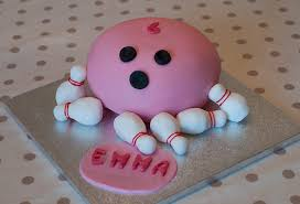 bowling cake toppers bowling cakes via photos of your creations