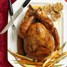 turkey ornaments thanksgiving and garlic rubbed turkey