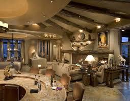 modern rustic living room ideas fake animal skin rug white dinning