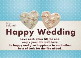 happy wedding day 52 happy wedding wishes for on a card