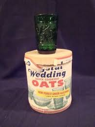 wedding oats glasses my gave me 50 years ago that came from boxes