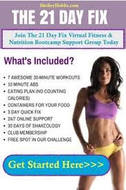 what is the 21 day fix 30 minute workouts color coded portion
