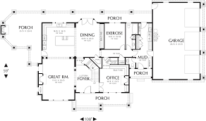 high end home plans that layout avoid dead ends to build