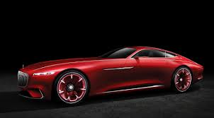 car mercedes red vision mercedes maybach 6 mercedes benz