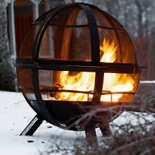 how to light a fire pit now landmann fire pits ball of firepit joanofjulyphotography
