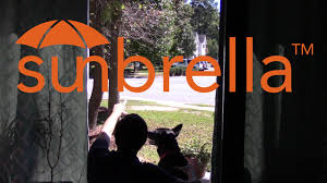 Sunbrella Curtains With Grommets by Outdoor Curtain Knowledge Sunbrella Material Youtube