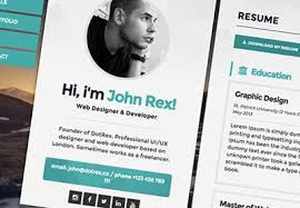 resume website template 5 exles of beautiful resume cv web templates
