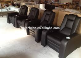 Home Theater Chair Single Leather Home Theater Chair Cinema Seating Ls811 Buy