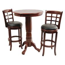Pub Tables For Kitchen by Boraam Augusta 3 Piece Pub Table Set Cappuccino Hayneedle