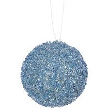 buy 6ct baby blue sequin and glitter drenched