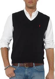 black sweater vest polo ralph pima cotton v neck vest belk