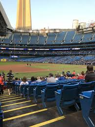 rogers centre section 129l home of toronto blue jays toronto
