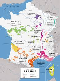 Map Of Spain And France by French Wine Exploration Map Wine Folly