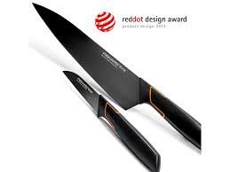 fiskars kitchen knives fiskars edge cook s knife large 19 cm