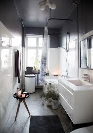 Meuble Salle De Bain Noir Et Blanc by