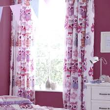 Owl Curtains For Nursery Pink Owl Nursery Curtains Amusing Ideas Window Curtain Cool And