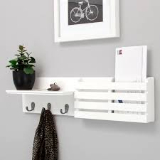 entryway shelf with hooks kiera grace sydney decoration