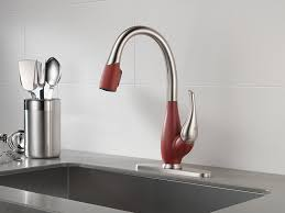 best faucet kitchen delta 9158 sr dst fuse single handle pull kitchen faucet with