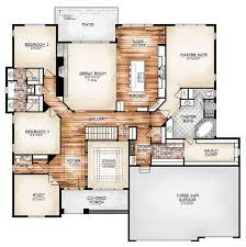 floor plan house i this plan the durango model plan features a compelling