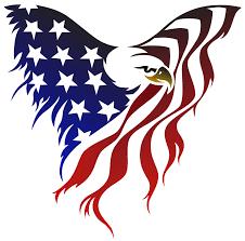 eagle tattoo clipart american flag eagle tattoo great car decal for back window