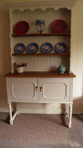 Shabby Chic Plate Rack by Vintage Shabby Chic Farmhouse Dresser Plate Rack With Large